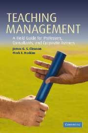 Teaching Management