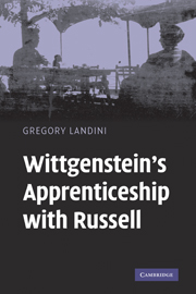 Wittgenstein's Apprenticeship with Russell