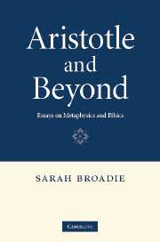 Aristotle and Beyond