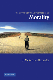The Structural Evolution of Morality