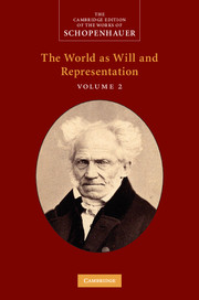 The Cambridge Edition of the Works of Schopenhauer