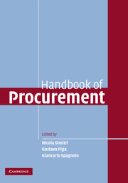 Handbook of Procurement