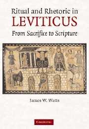 Ritual and Rhetoric in Leviticus