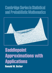 Saddlepoint Approximations with Applications