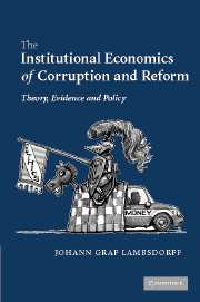 The Institutional Economics of Corruption and Reform
