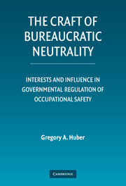 The Craft of Bureaucratic Neutrality