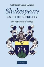 Shakespeare and the Nobility
