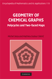 Geometry of Chemical Graphs