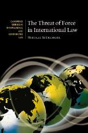 The Threat of Force in International Law