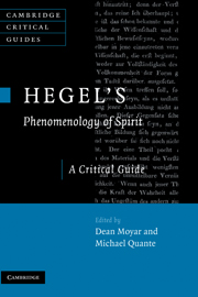 Hegel's <I>Phenomenology of Spirit</I>