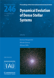Dynamical Evolution of Dense Stellar Systems (IAU S246)