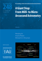 A Giant Step: From Milli- to Micro- Arcsecond Astrometry (IAU S248)