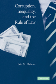 Corruption, Inequality, and the Rule of Law