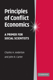 Principles of Conflict Economics