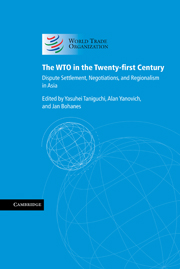 The WTO in the Twenty-first Century