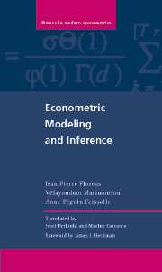 Econometric Modeling and Inference