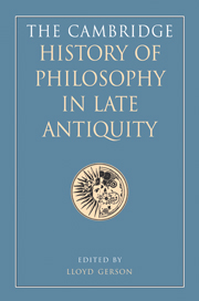 The Cambridge History of Philosophy in Late Antiquity 2 Volume Hardback Set