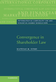 Convergence in Shareholder Law