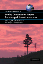 Setting Conservation Targets for Managed Forest Landscapes