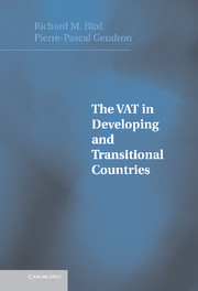 The VAT in Developing and Transitional Countries