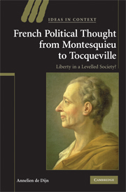 French Political Thought from Montesquieu to Tocqueville