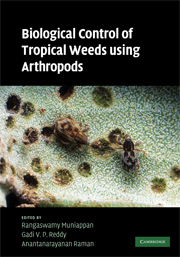 Biological Control of Tropical Weeds Using Arthropods
