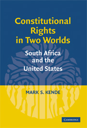 Constitutional Rights in Two Worlds
