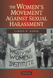 The Women's Movement against Sexual Harassment