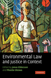 Environmental Law and Justice in Context