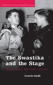 The Swastika and the Stage