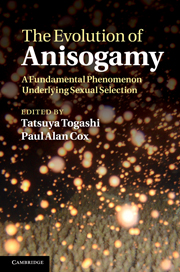 The Evolution of Anisogamy