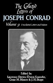 The Collected Letters of Joseph Conrad
