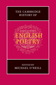 The Cambridge History of English Poetry