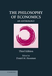 The Philosophy of Economics