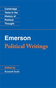 Emerson: Political Writings