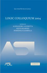 Logic Colloquium 2004