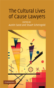 The Cultural Lives of Cause Lawyers