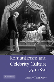 Romanticism and Celebrity Culture, 1750–1850
