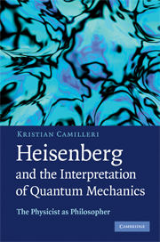 Heisenberg and the Interpretation of Quantum Mechanics