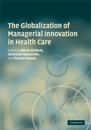 The Globalization of Managerial Innovation in Health Care