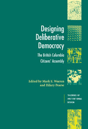Designing Deliberative Democracy