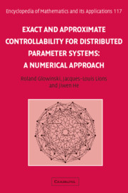 Exact and Approximate Controllability for Distributed Parameter Systems