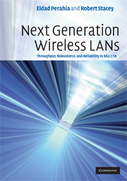 Next Generation Wireless LANs