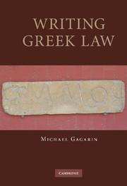 Writing Greek Law