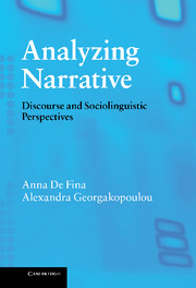 Analyzing Narrative