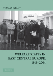 Welfare States in East Central Europe, 1919–2004