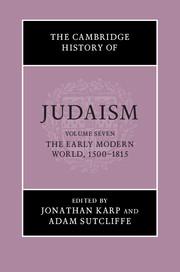 The Cambridge History of Judaism