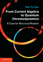 From Current Algebra to Quantum Chromodynamics
