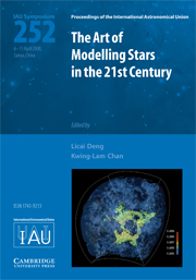The Art of Modeling Stars in the 21st Century (IAU S252)