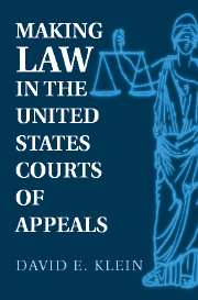 Making Law in the United States Courts of Appeals